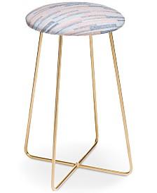 Deny Designs Pimlada Phuapradit Stripes Counter Stool