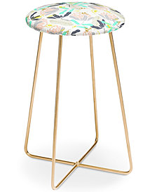 Deny Designs Marta Barragan Camarasa Hummingbirds Counter Stool