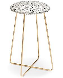 Deny Designs Holli Zollinger Mandala Tile Light Counter Stool