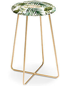 Deny Designs Marta Barragan Camarasa Leaves Counter Stool
