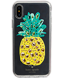 kate spade new york Jeweled Pineapple iPhone 8/8 Plus/X Case