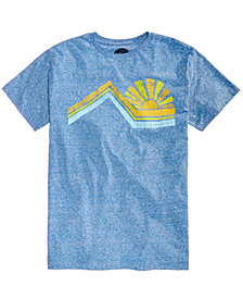 C&C California Men's Into The Sun Heather Graphic-Print T-Shirt