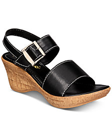 Callisto Shelton Platform Wedge Sandals, Created for Macy's