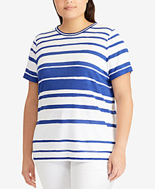 Lauren Ralph Lauren Plus Size Jersey Top