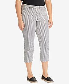 Lauren Ralph Lauren Plus Size Skinny Fit Pants