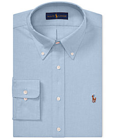 Polo Ralph Lauren Men's Classic Fit Cotton Oxford Dress Shirt