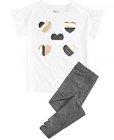 Epic Threads Big Girls T-Shirt & Leggings, Created for Macy's