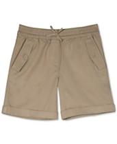 bb1007207 Nautica Big Girls Cuffed Twill Shorts. Quickview. 2 colors