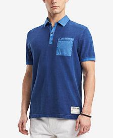 Tommy Hilfiger Denim Men's Zalazar Colorblocked Pocket Polo, Created for Macy's