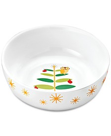 Holiday Hoot Serving Bowl
