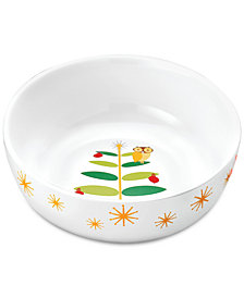 Rachael Ray Holiday Hoot Serving Bowl