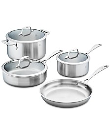 Zwilling J.A. Henckels Spirit 7-Pc. Stainless Steel Cookware Set