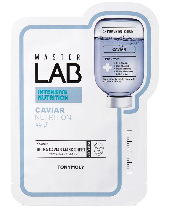 TONYMOLY - Master Lab Caviar Nutrition Sheet Mask