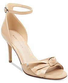 Marc Fisher Brodie Bow Dress Sandals