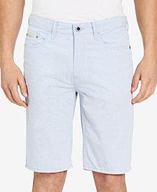 """Calvin Klein Jeans Men's Striped 10.5"""" Inseam Shorts"""