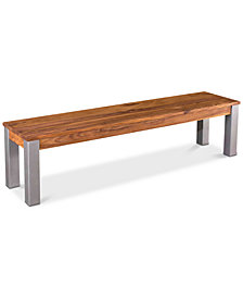 Kingston Dining Bench, Quick Ship