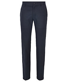 BOSS Men's Slim-Fit Technical Twill Golf Pants
