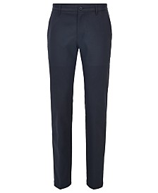 BOSS Men's Slim-Fit Technical Twill Golf Pants
