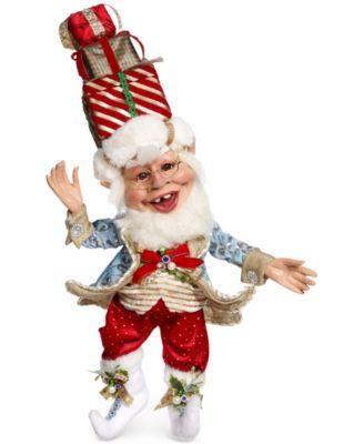 Christmas Present Elf Large Figurine