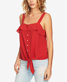 1.STATE Tie-Front Tank Top