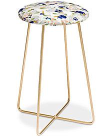 Deny Designs Marta Barragan Camarasa Abstract Shapes Counter Stool