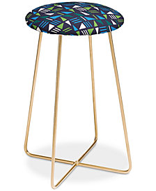 Deny Designs Zoe Wodarz Weekend Boat Trip Counter Stool