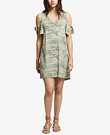Sanctuarly Lakeside Cotton Printed T-Shirt Dress