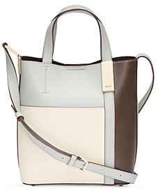 DKNY Sam Colorblocked Crossbody Tote
