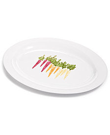 Martha Stewart Collection Farmhouse Carrots Platter
