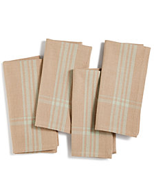 CLOSEOUT! Elrene Savanna Bistro Set of 4 Napkins