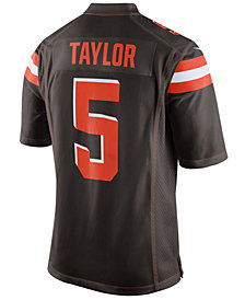 Nike Men's Tyrod Taylor Cleveland Browns Game Jersey