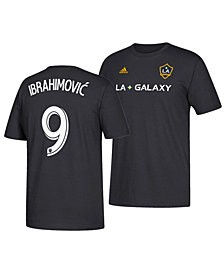 adidas Men's Zlatan Ibrahimovic LA Galaxy Alternate Player T-Shirt