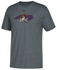 adidas Men's East Carolina Pirates State Logo Pattern T-Shirt