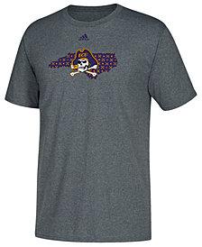 adidas Men's East Carolina Pirates State Logo Pattern T-Shirt