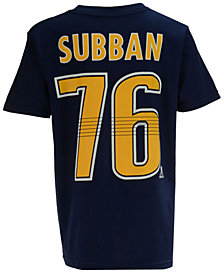 Outerstuff P.K. Subban Nashville Predators Player T-Shirt, Big Boys (8-20)
