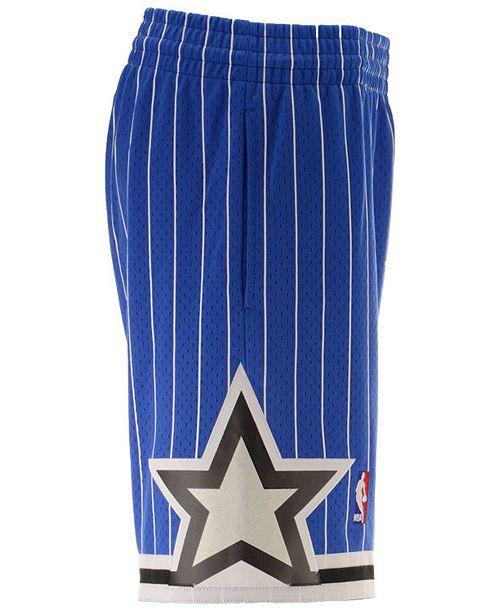 88ef491f3963c Mitchell & Ness Men's Orlando Magic Authentic NBA Shorts & Reviews ...