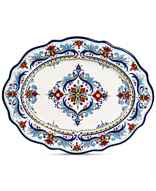 Tabletops Unlimited San Marino Italian Oval Platter