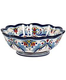CLOSEOUT! San Marino Italian Blue Footed Bowl