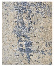 "Loloi Porcia PB-13 Beige/Blue 2' 8"" x 12' Runner Area Rug"