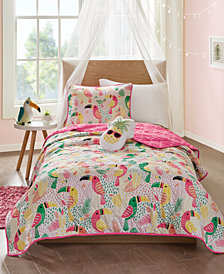 Mi Zone Kids Tutti the Toucan 4-Pc. Full/Queen Coverlet Set