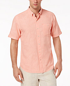 Tommy Bahama Men's Desert Fronds Floral-Jacquard Camp Shirt