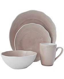 Dahlia 16-Pc. Dinneware Set, Service for 4