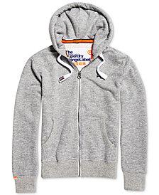 Superdry Men's Orange Label Zip-Up Hoodie