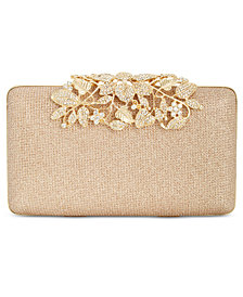 I.N.C. Jennah Floral Closure Clutch, Created for Macy's