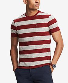 Tommy Hilfiger Men's Lexington Stripe Pocket T-Shirt, Created for Macy's