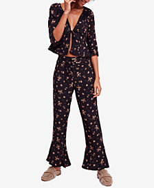 Free People El Paso Printed Pant Set