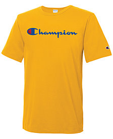 Champion Men's Heritage Script Logo T-Shirt