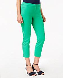 Alfani Slim-Leg Ankle Pants, Created for Macy's
