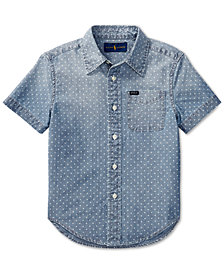 Polo Ralph Lauren Big Boys Cotton Chambray Shirt