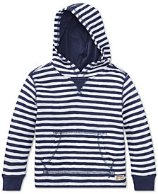 Polo Ralph Lauren Little Boys Striped Cotton Hoodie